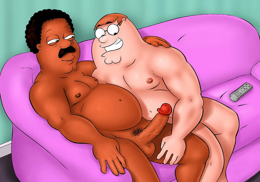 Gay Daddy Cartoon Porn