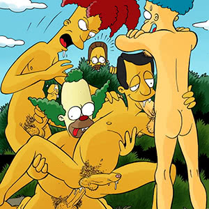 Gay Threesome Cartoon Porn